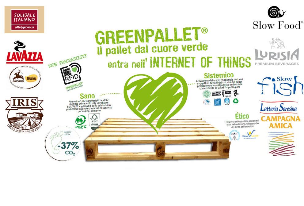 Pallet intelligenti per Filiere Sostenibili e Consumi Consapevoli