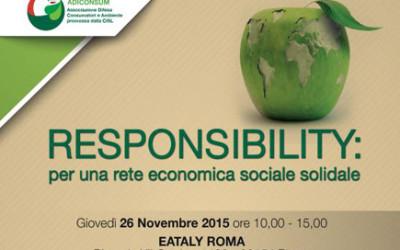 Responsibility: per una rete economica sociale solidale