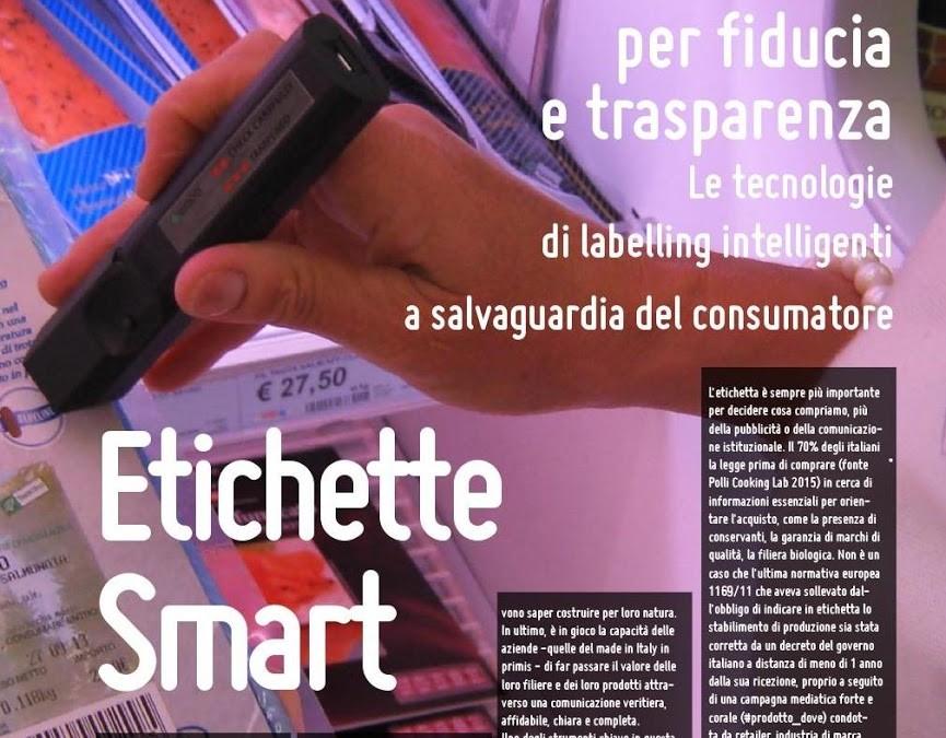 Etichette Intelligenti e IoT per la trasparenza dei consumi